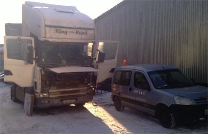 Выезд специалиста по ремонту МАН в Москве и МО